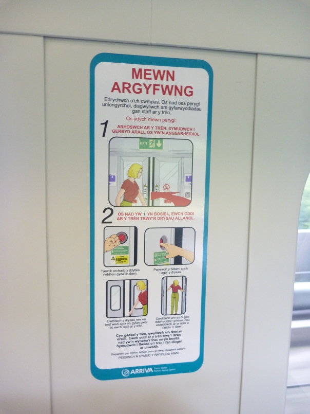 2013-08-22 - Train sign