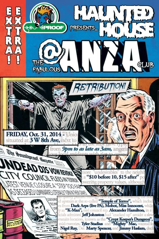 Halloween @ The Anza Club