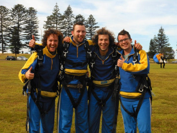 2014-07-24 - 361 - Wollongong - Nic, Alex, Alec, and Matt