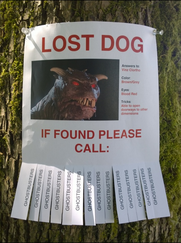 2015-08-16 - Parkproof - 04 - Dog posters