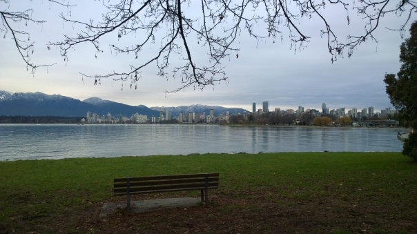 2015-12-17 - Vancouver from Kits beach
