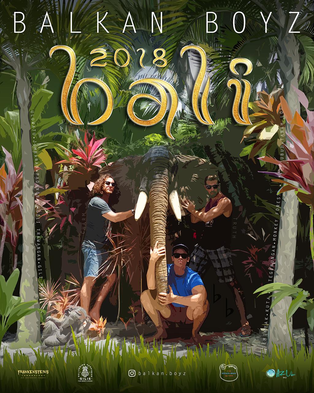 Balkan Boyz - Bali Poster - MASTER - 06